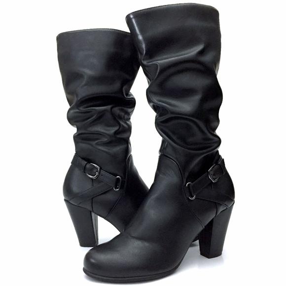 Nine West Schuhes   Schuhes  Dakota Vegan Midcalf Stiefel   Poshmark ae9770